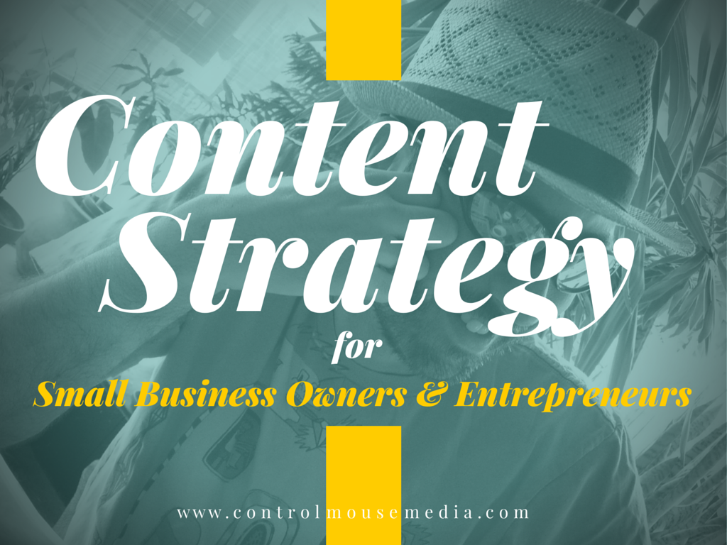 Content strategy for SMBs