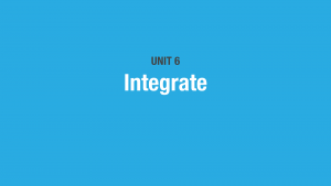 CreateBiz-Unit-6-Integrate