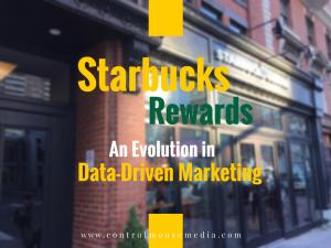 Starbucks Rewards, Starbucks Rewards Program, Starbucks Star Rewards, data-driven marketing