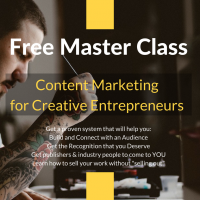 Live Training – Content Marketing for Creative Entrepreneurs