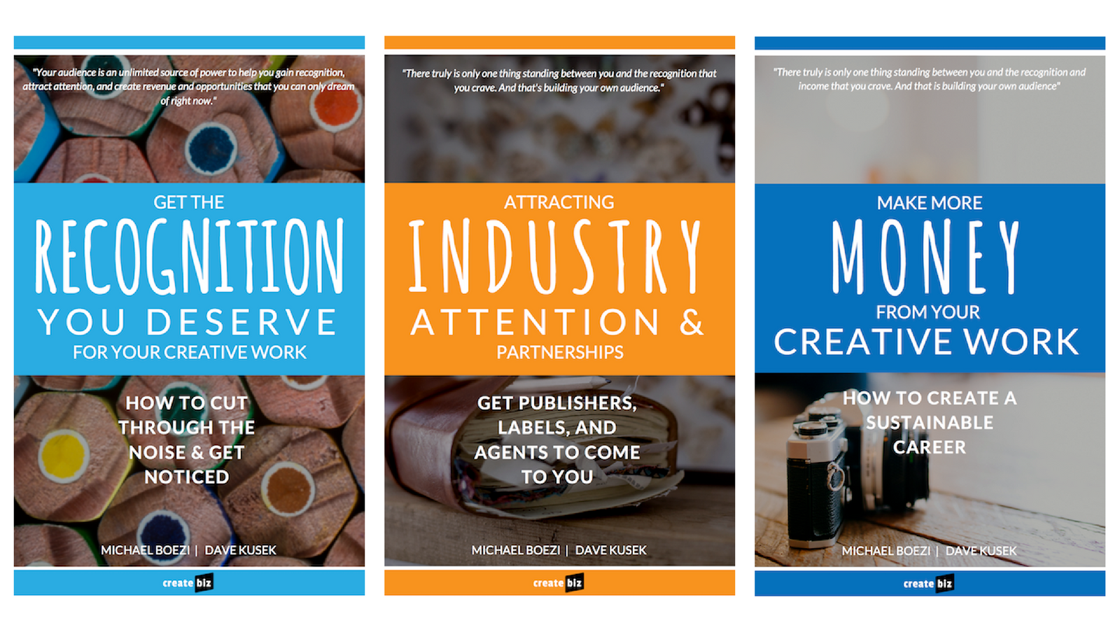 createbiz bonus guidebooks