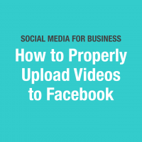 How to Post a Video on Facebook: Optimizing for Organic Reach