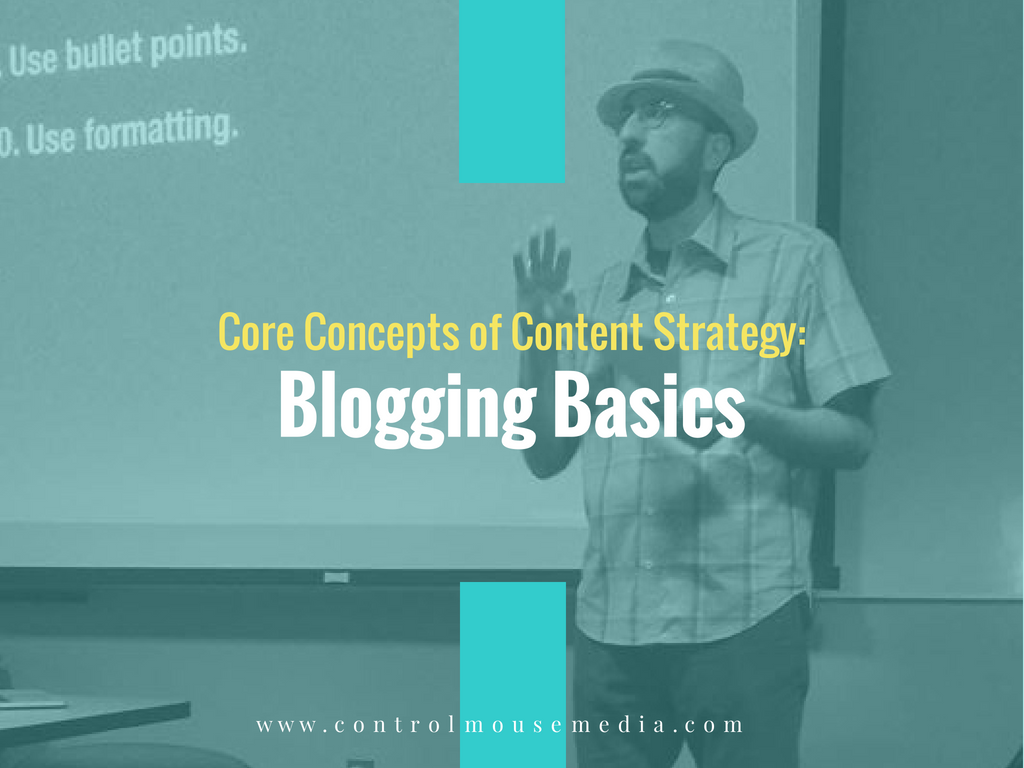 Learn the basics of blogging for small business in this online course from Michael Boezi, Owner and Managing Director of Control Mouse Media, LLC.