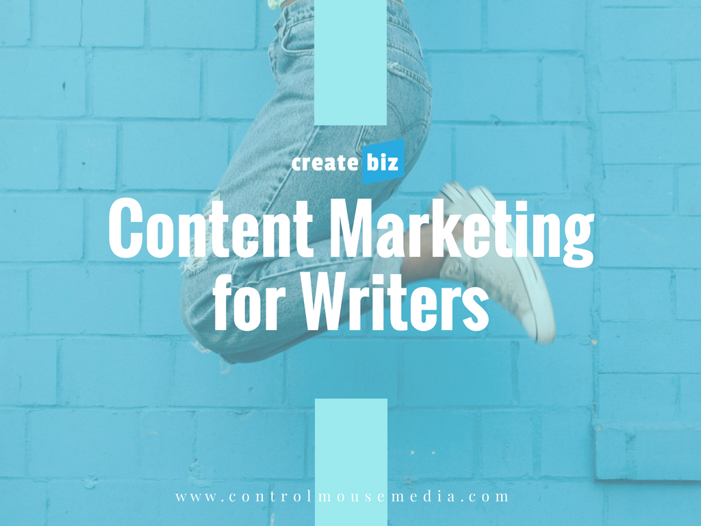 Writers can learn content marketing in this online course from Michael Boezi, Owner and Managing Director of Control Mouse Media, LLC.