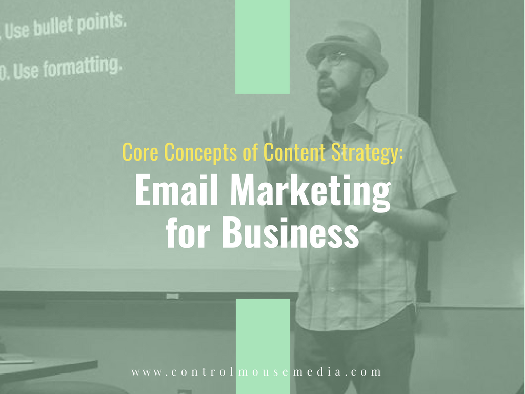 Learn email list strategies for small business in this online course from Michael Boezi, Owner and Managing Director of Control Mouse Media, LLC.