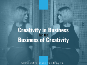 Creativity in business is now a requirement. If you're a creative, get good at the business side. If you're already good at business, time to get creative.