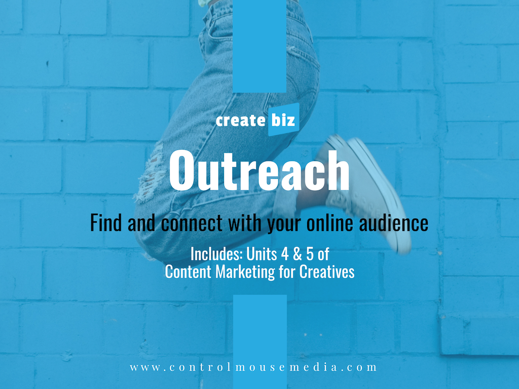 Learn how to do the outreach necessary to find new fans - using a blog, email campaigns, and social media.