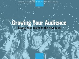 Marketing is not just shouting to be heard above the crowd. It's about working WITH your audience to get your work noticed.