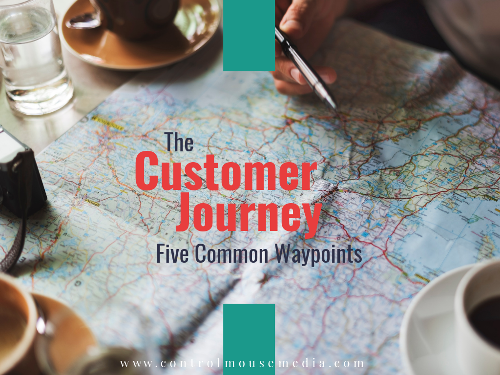 The Customer Journey: Five Common Waypoints