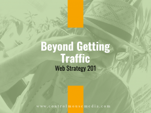 Marketing is more than just getting traffic to your website.