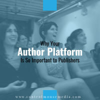 Today's publishing industry takes fewer chances on new authors. Having a strong author platform is one way to show that you are a low-risk investment.