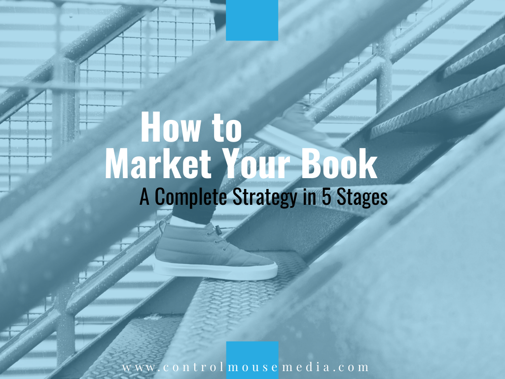 Book marketing doesn't have to be done all at once - a smart content strategy can be built in stages.