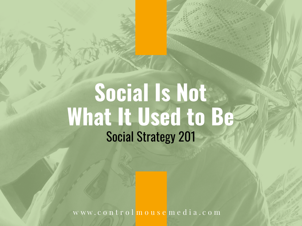 Social Is Not What It Used to Be: Social Strategy 201 (Episode 164)