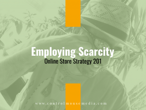 How can you employ scarcity to increase the checkout completion rates in your online store?