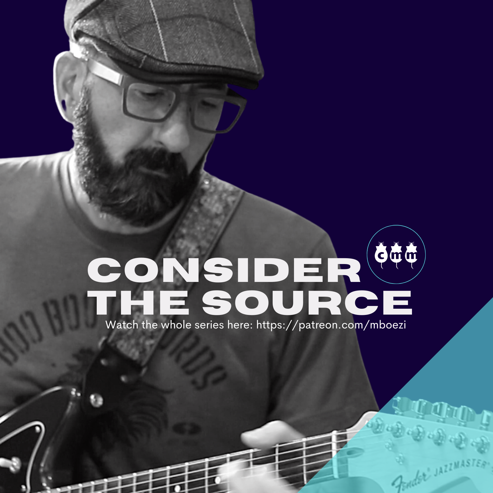 Consider the Source is an ongoing project that audits the way we consume, share, and produce media. This project includes live performances, selected workshops on the creative process, with early access and exclusive episodes.